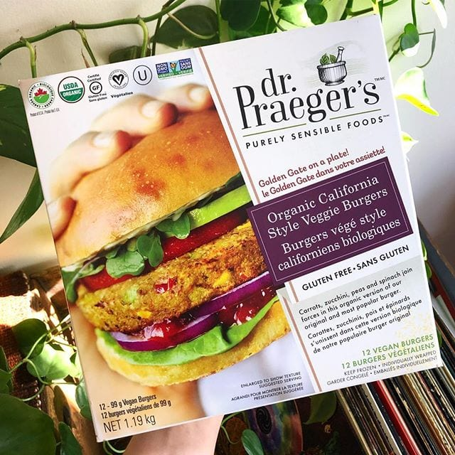 Organic California Veggie Burger