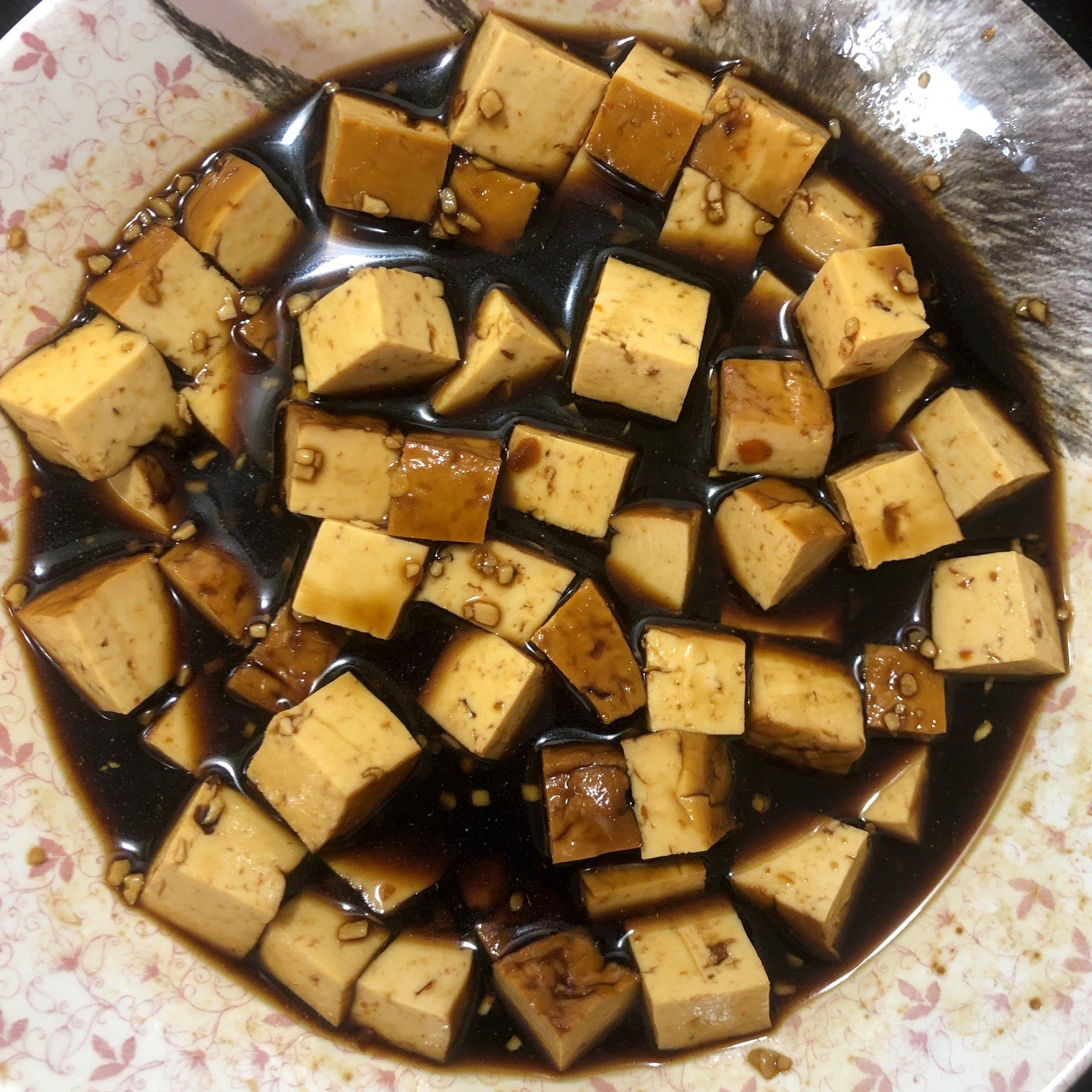 tofu marinading
