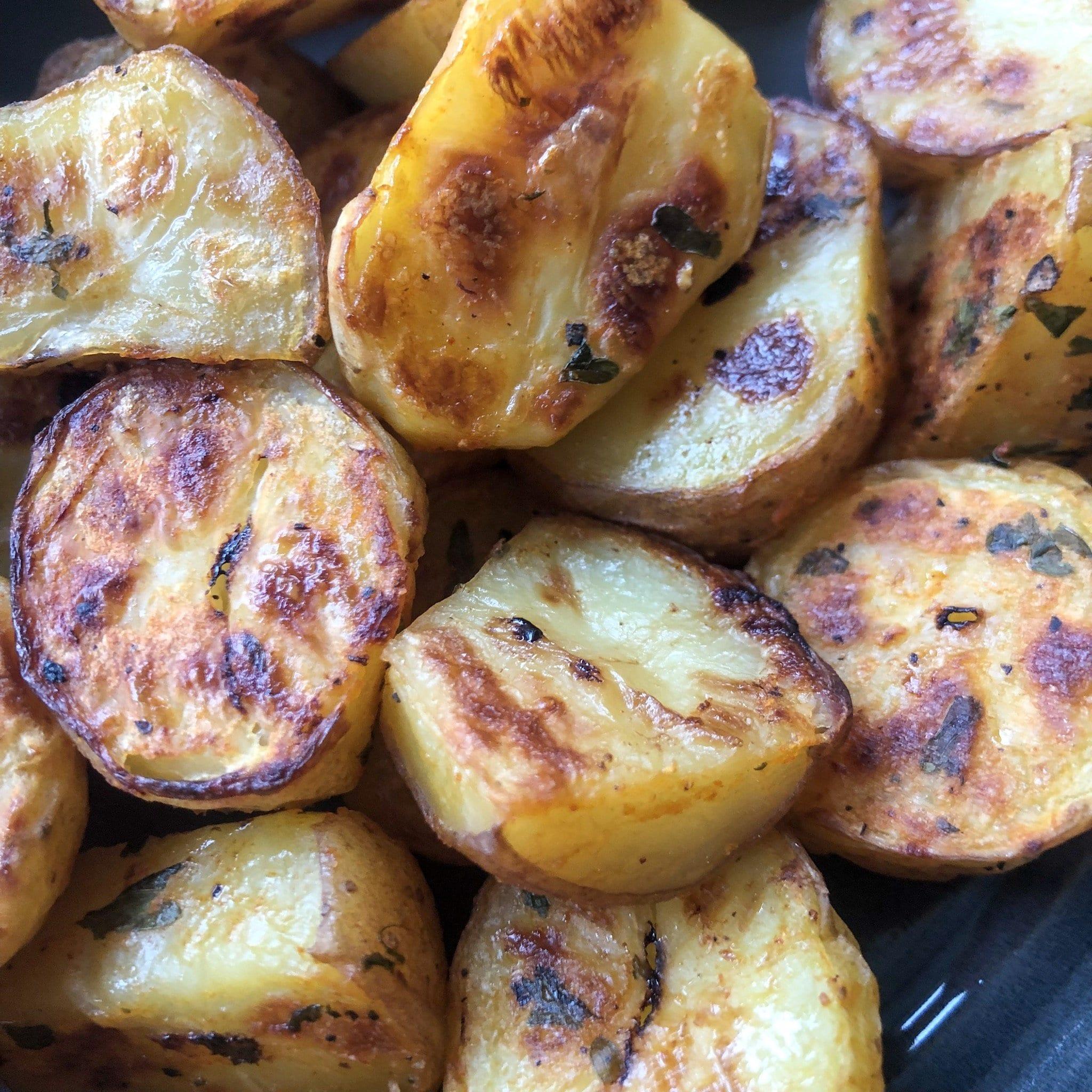 ketchup roasted potatoes 1