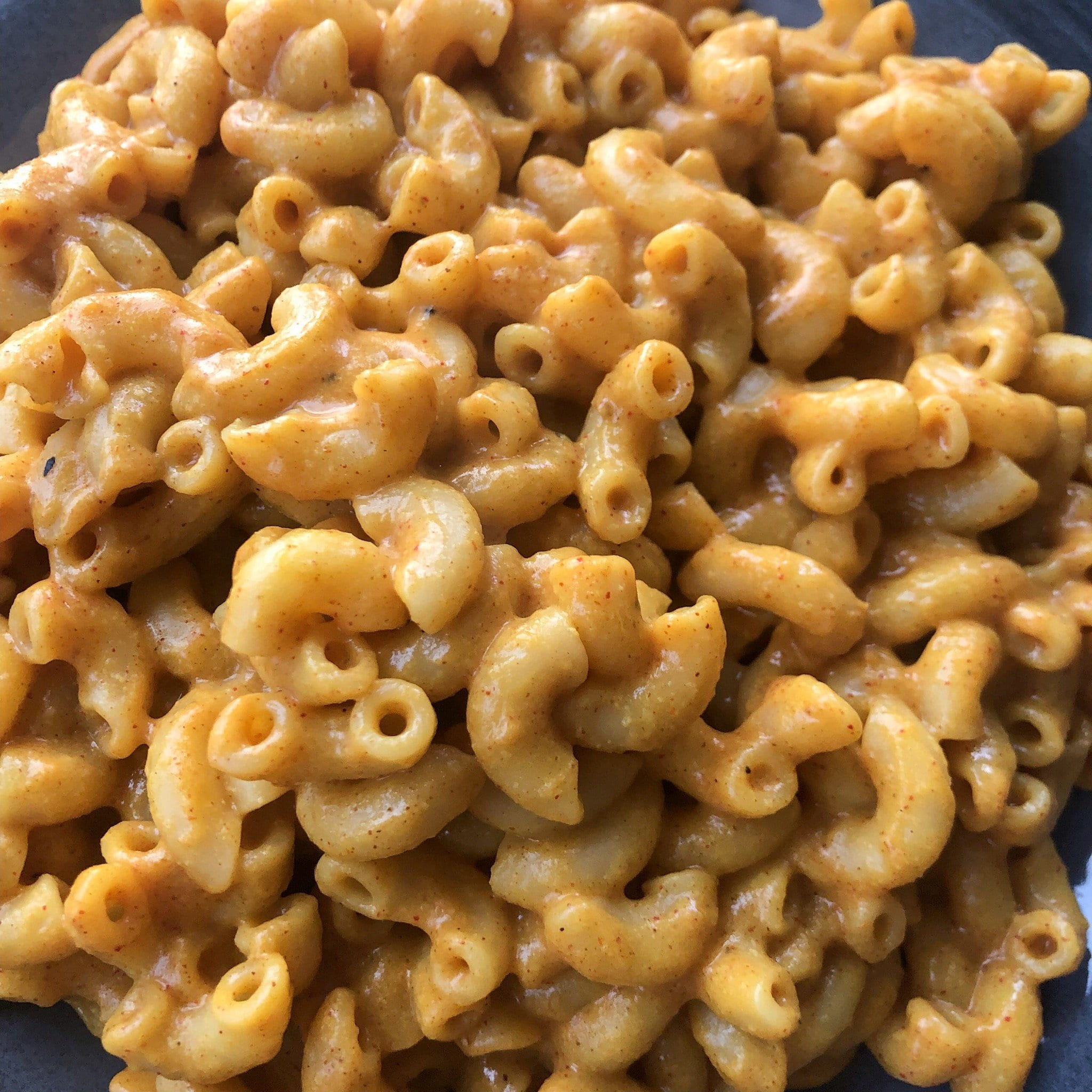 mac and cheese close up