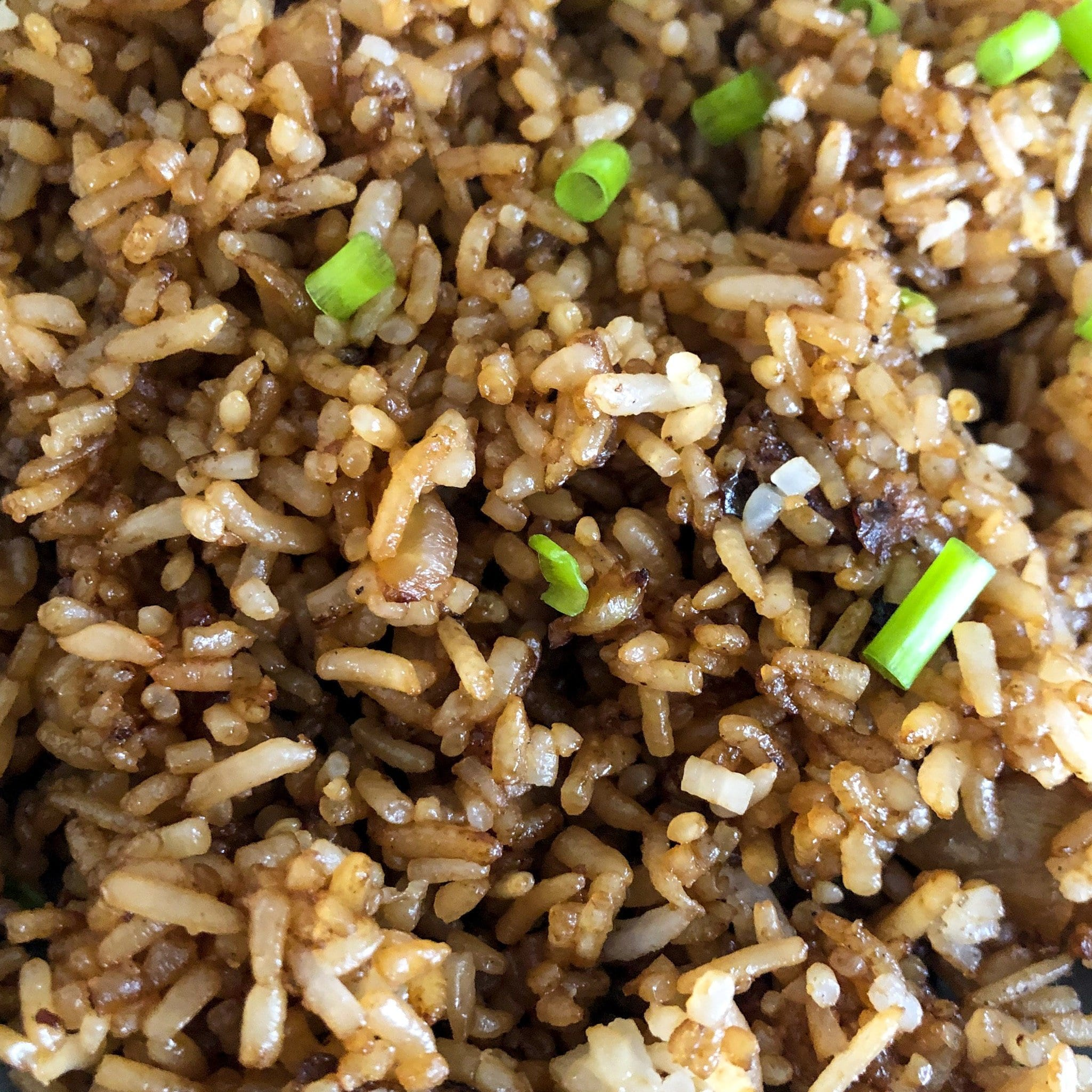 fried rice close up