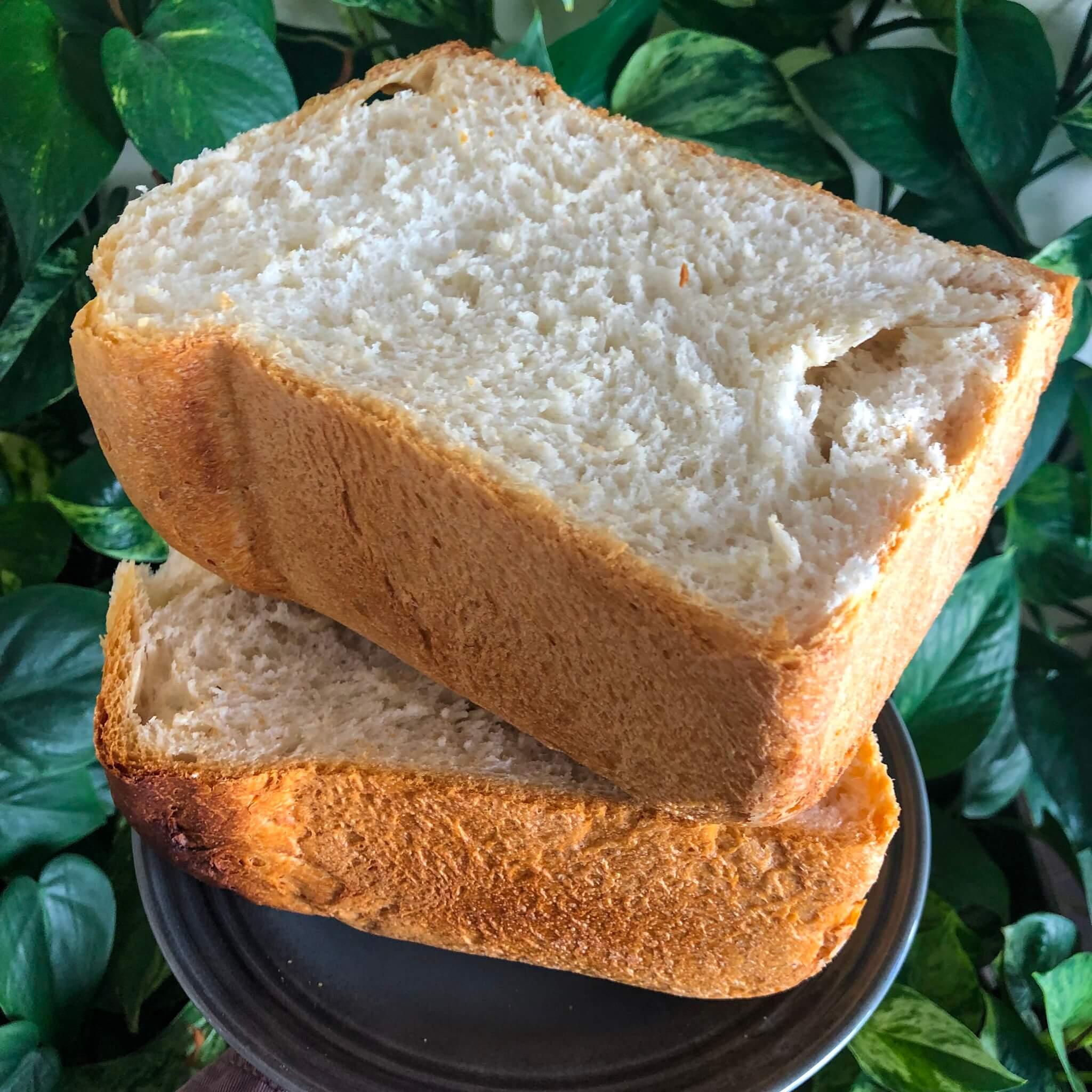 white bread machine bread