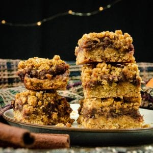 vegan date squares recipe two stack hero