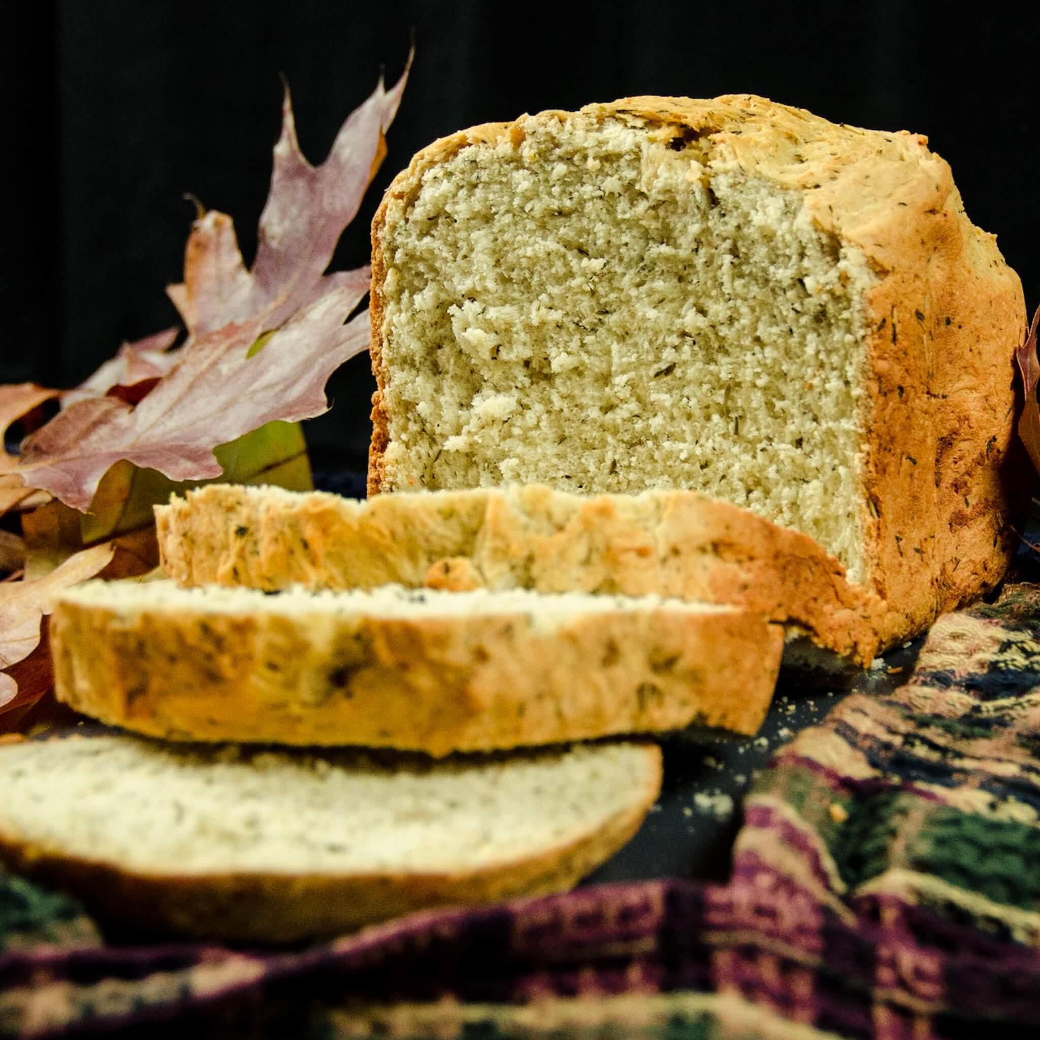 vegan stuffing bread hero