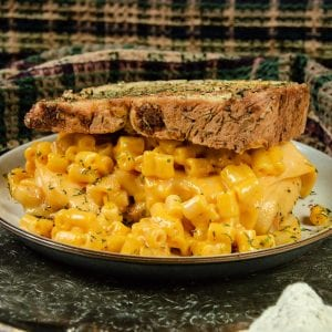 vegan mac and cheese grilled cheese