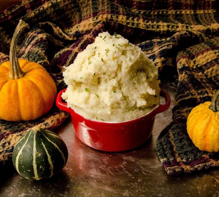 vegan mashed potato recipe pumpkin shot