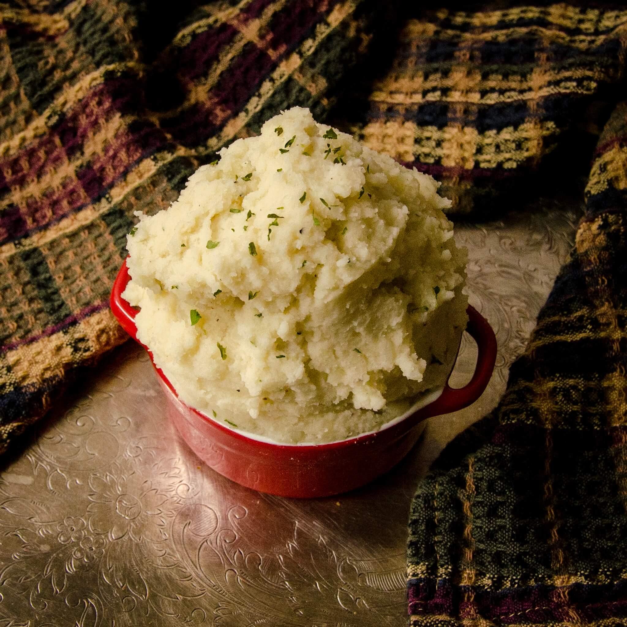 mashed potatoes thanksgiving dinner recipe