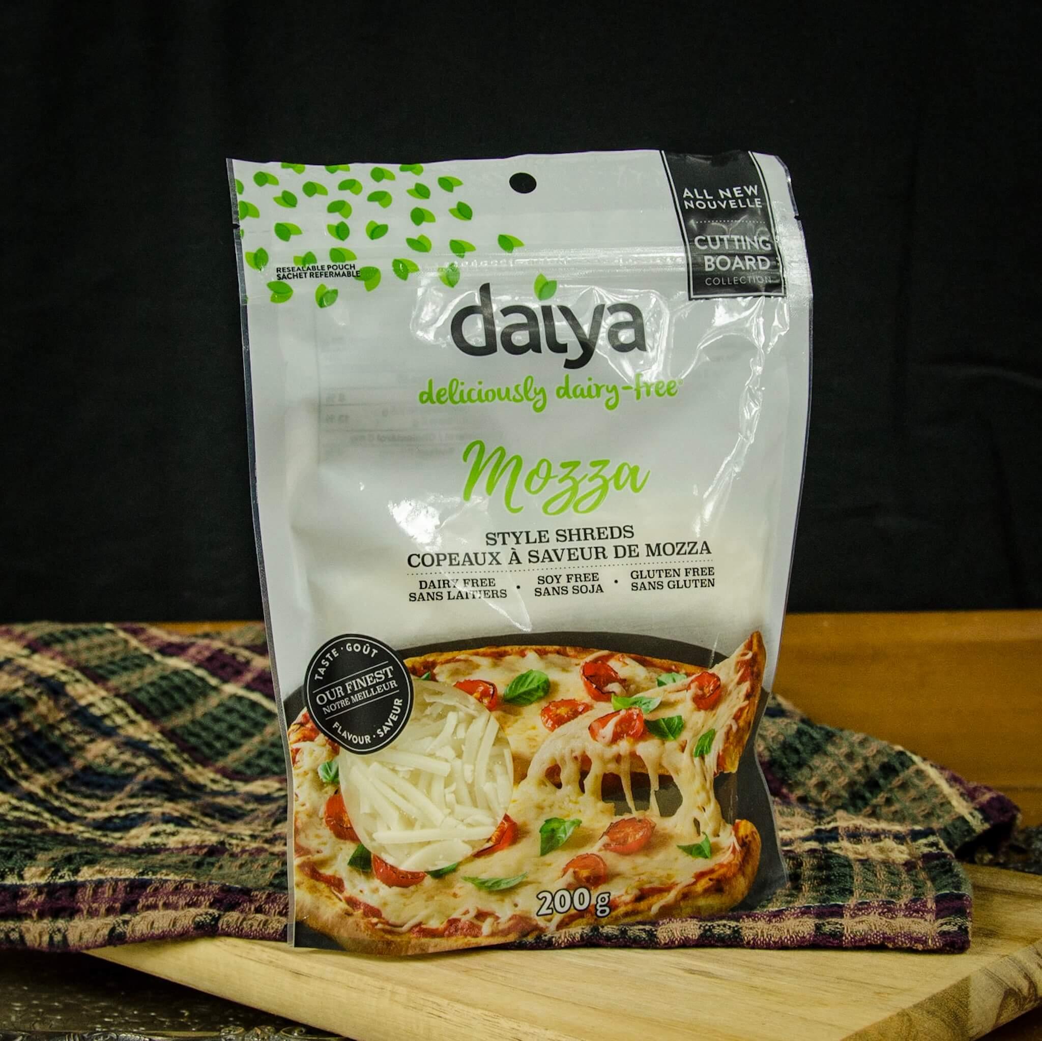daiya mozzarella cutting board shreds