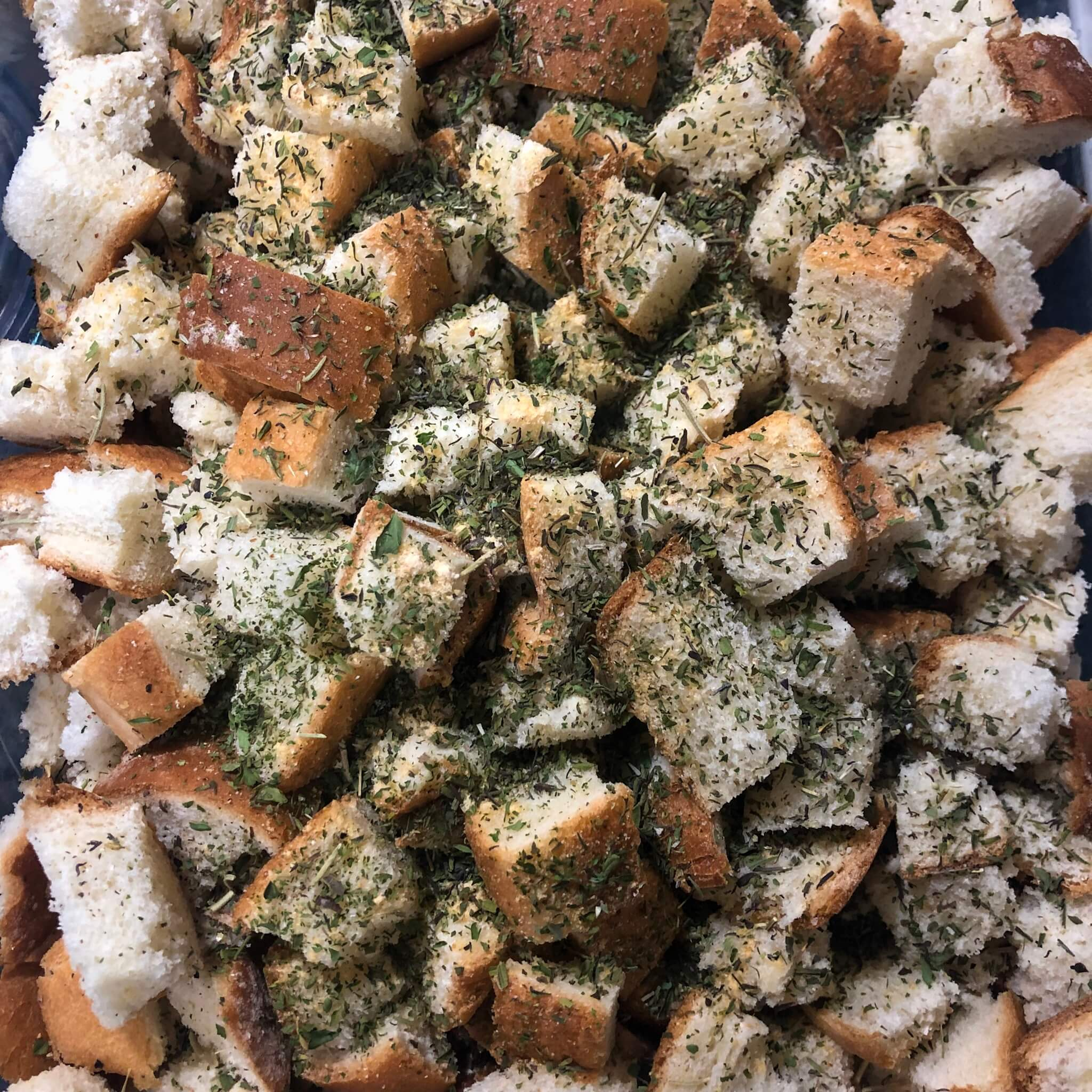 thanksgiving stuffing with summer savory