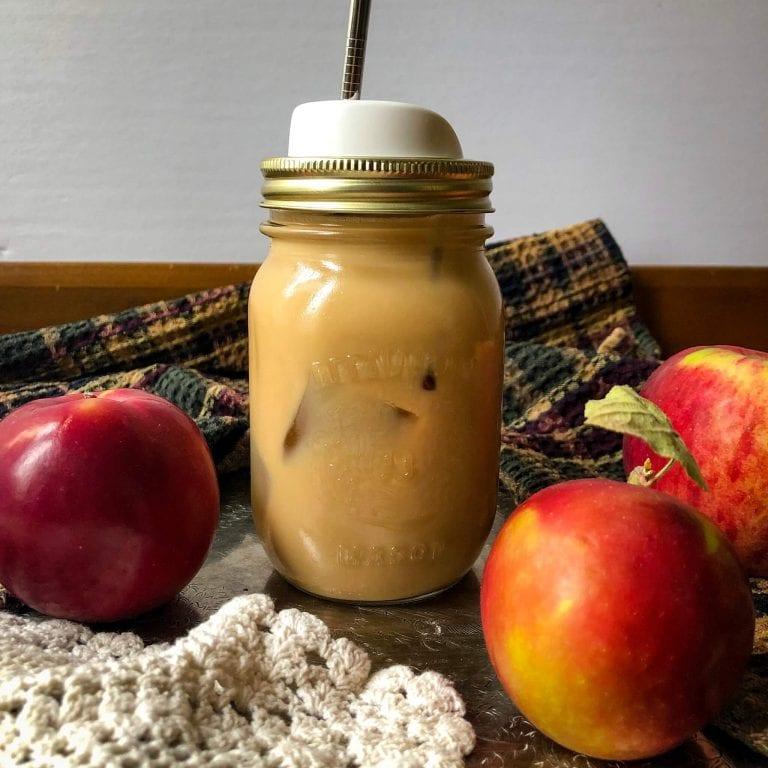 Apple pie iced coffee recipe