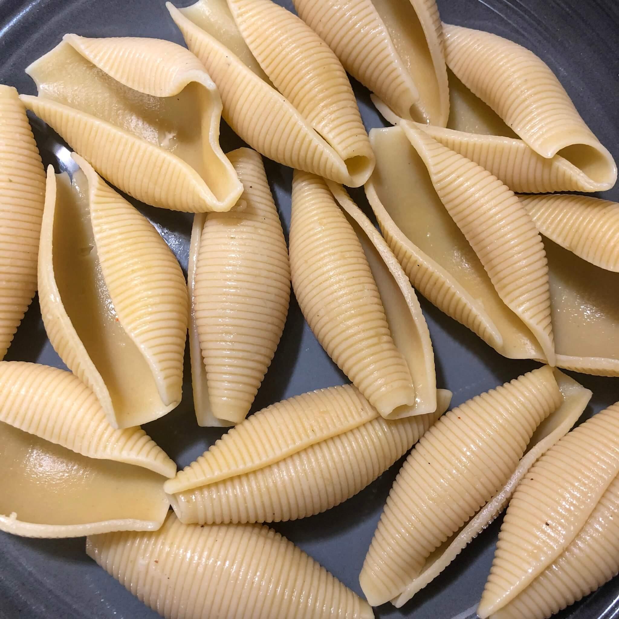 stuffed shells without the ricotta cheese