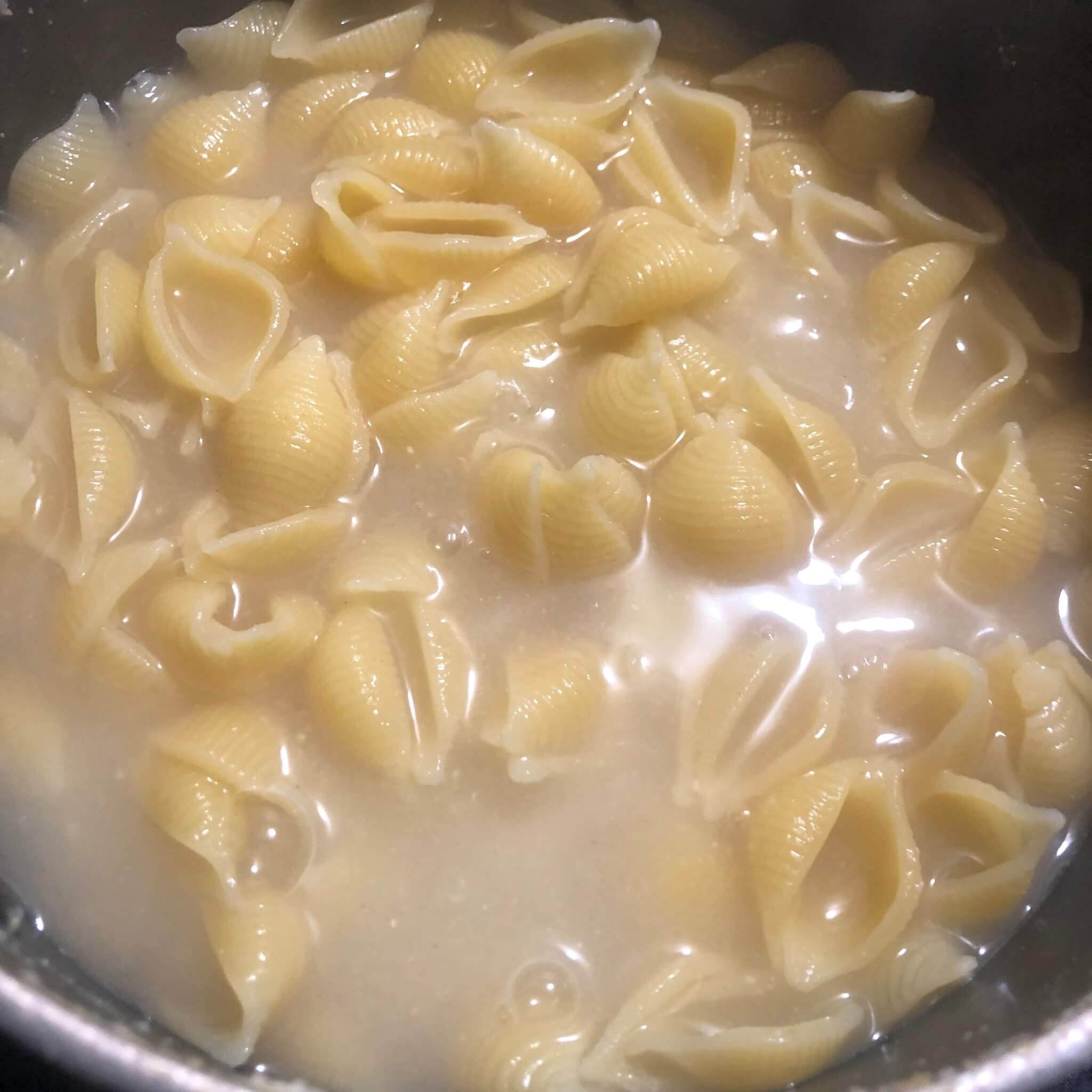 vegan pasta recipe noodles in pot