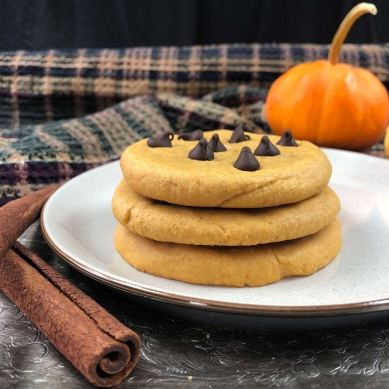 lenny and larrys copycat pumpkin cookie stack