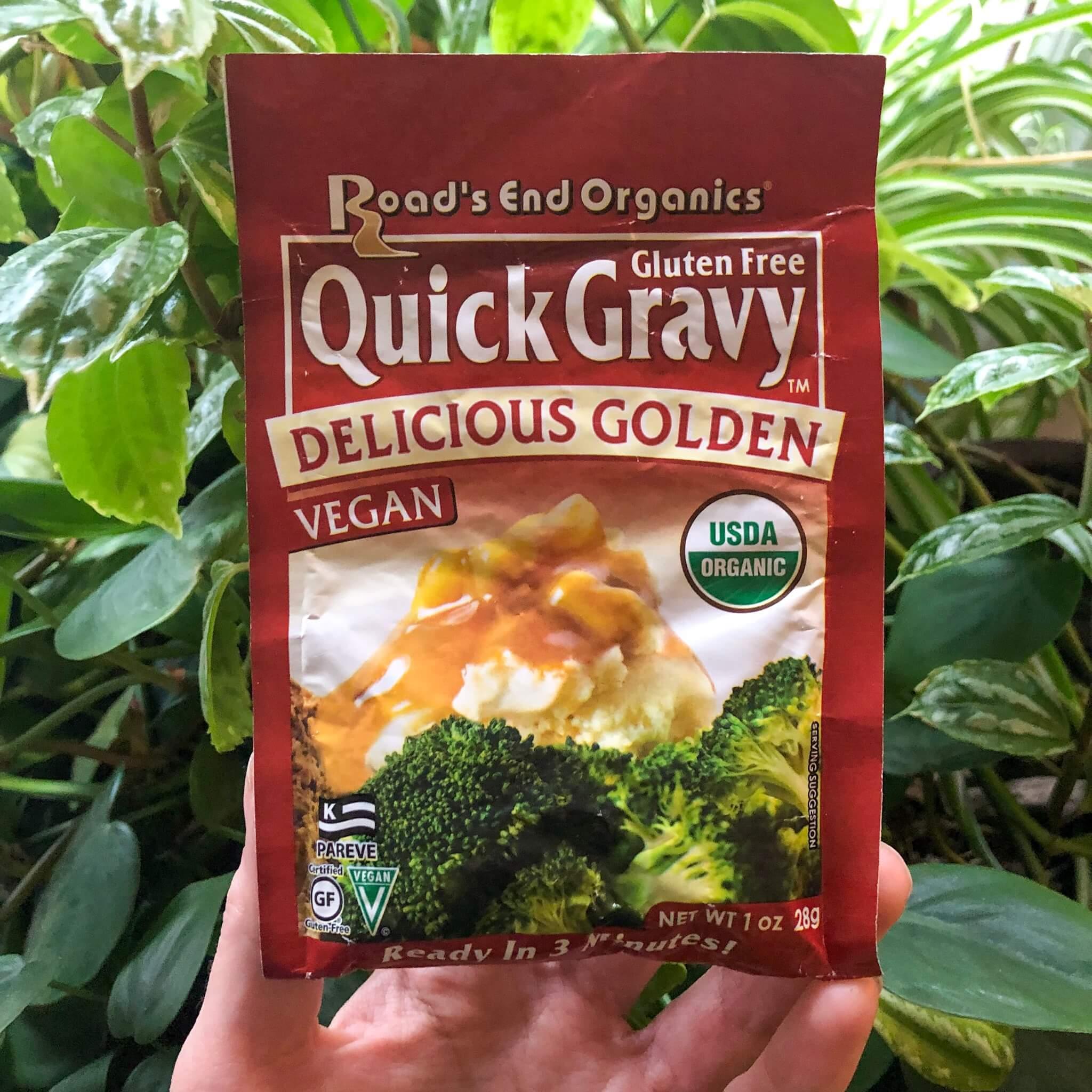 road's end organics golden gravy