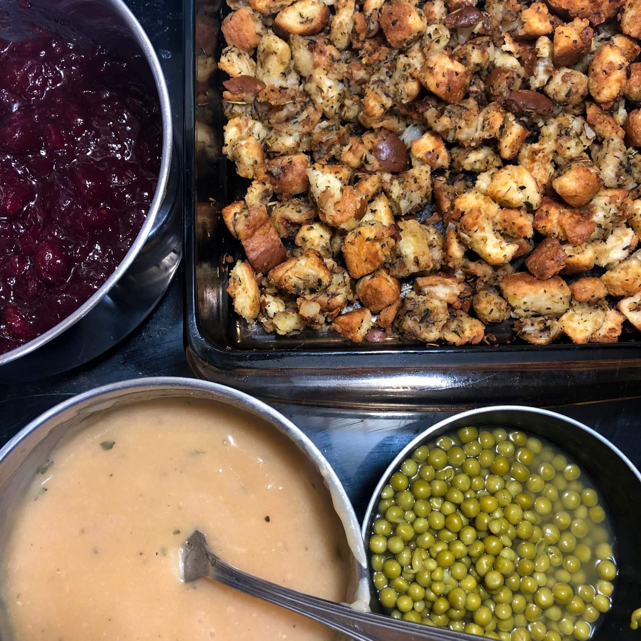 vegan christmas poutine ingredients