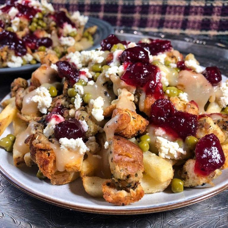vegan christmas poutine recipe 2