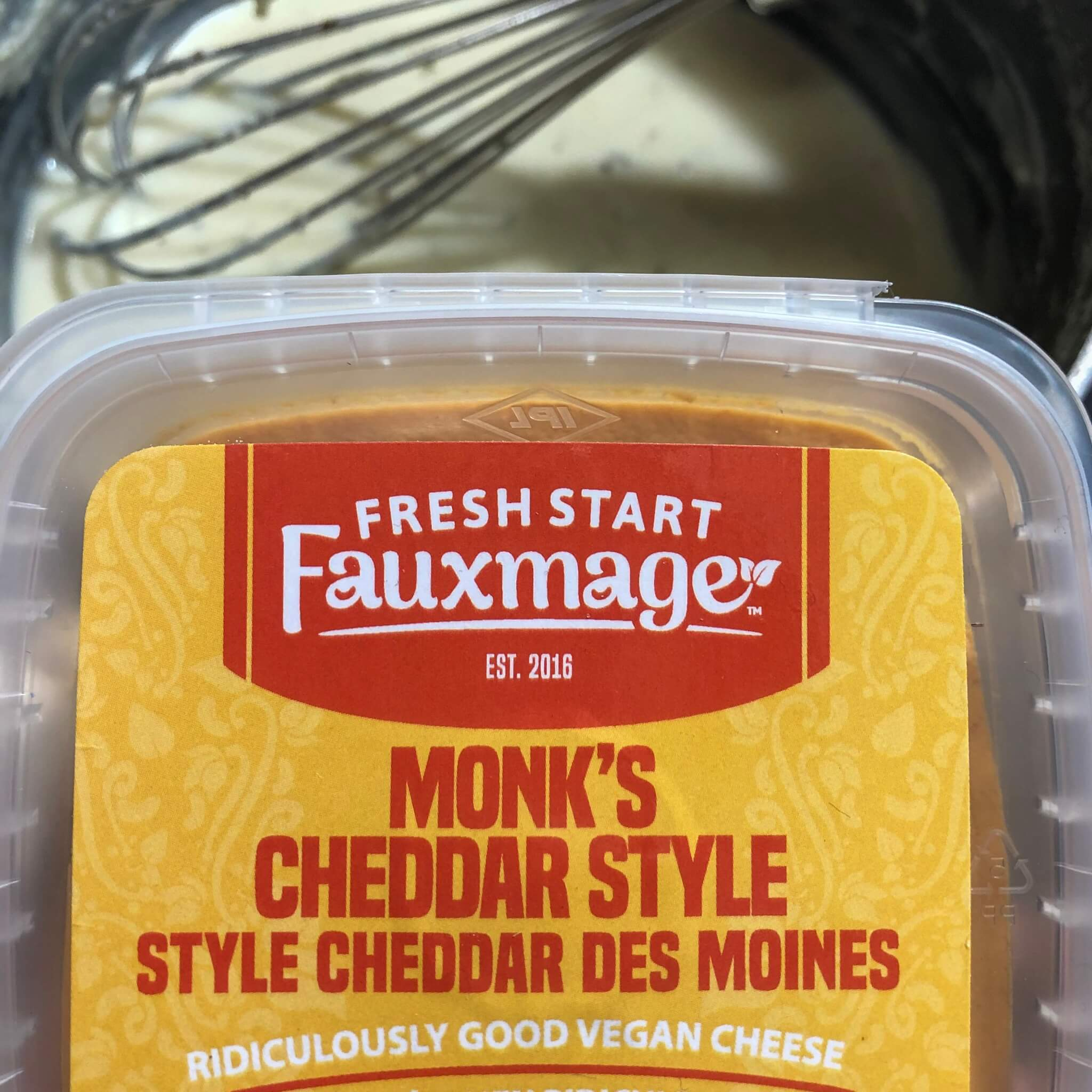 fresh start fauxmage monk's cheddar cheese