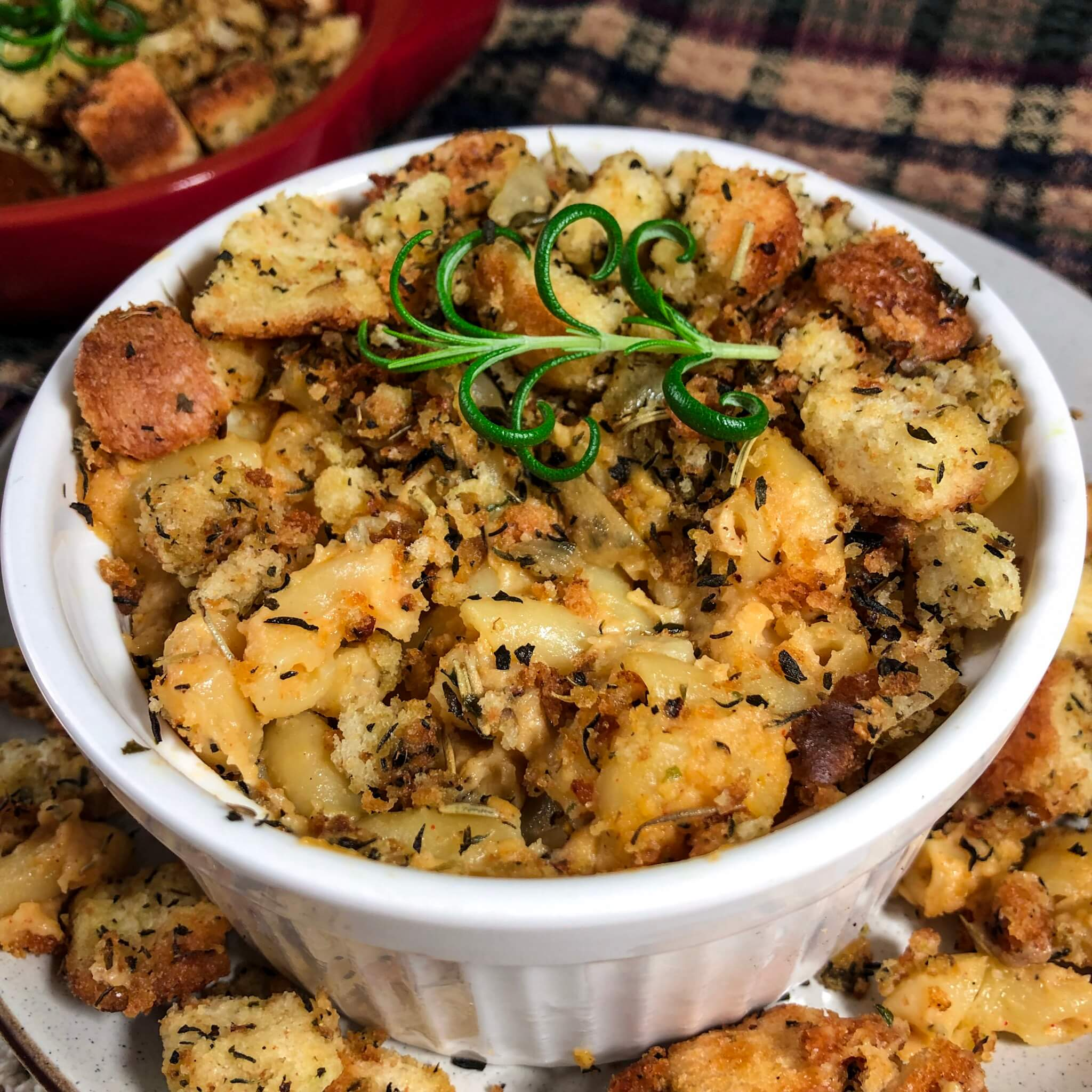 stuffing mac and cheese 3