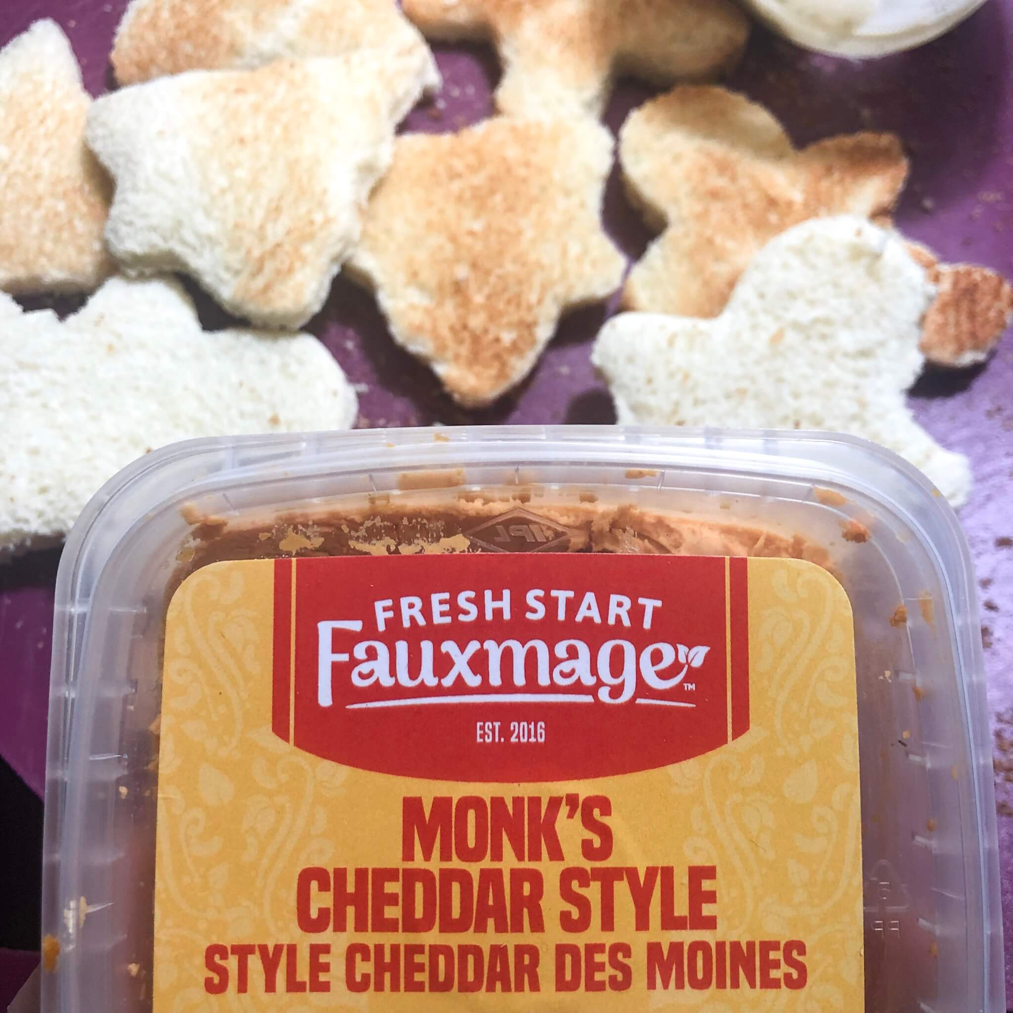 fresh start fauxmage cheddar cheese