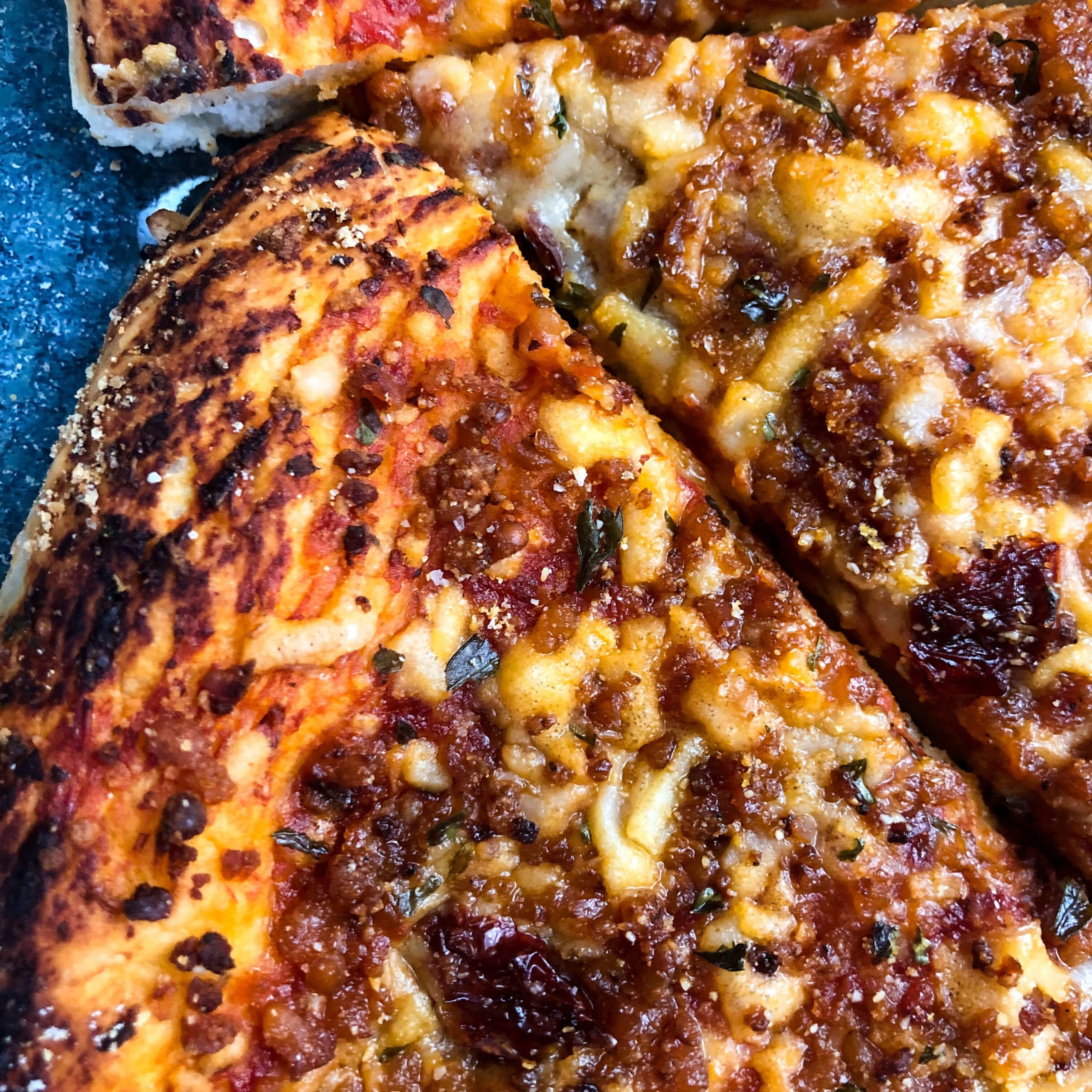 cheese pizza texture