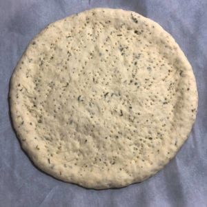 pizza dough raw crust